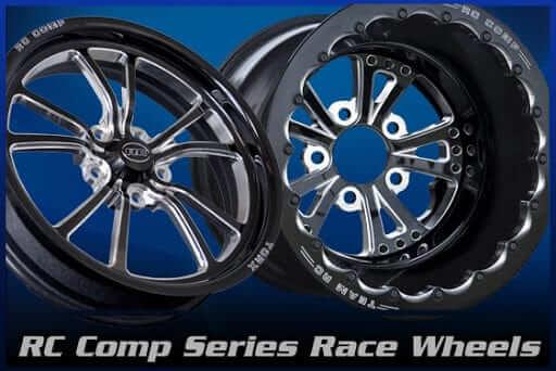 rc components custom wheels set
