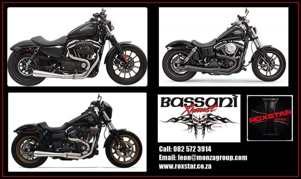 Bassani Exhausts for custom bikes