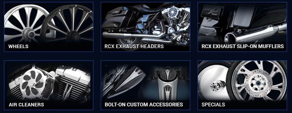 custom motorcycle parts