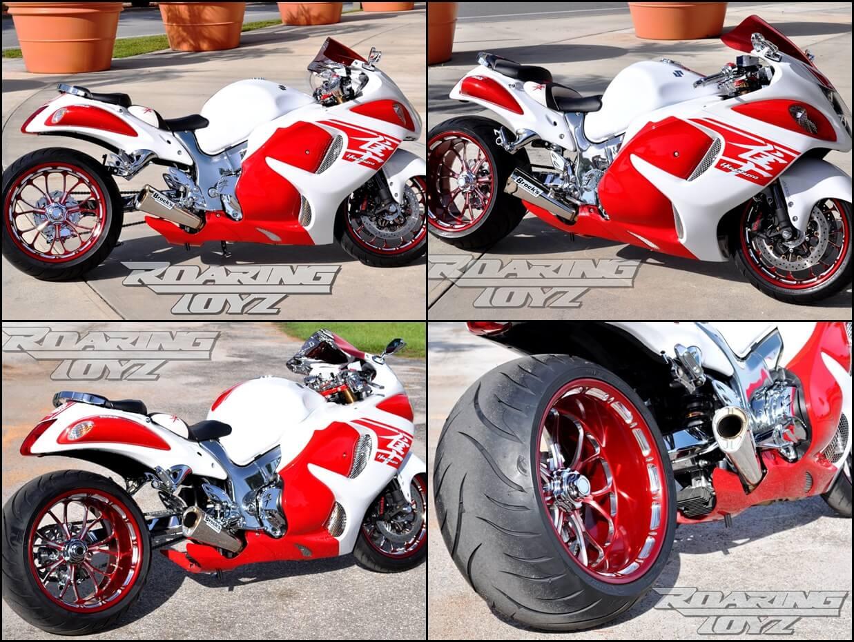 Suzuki hayabusa custom motorbike