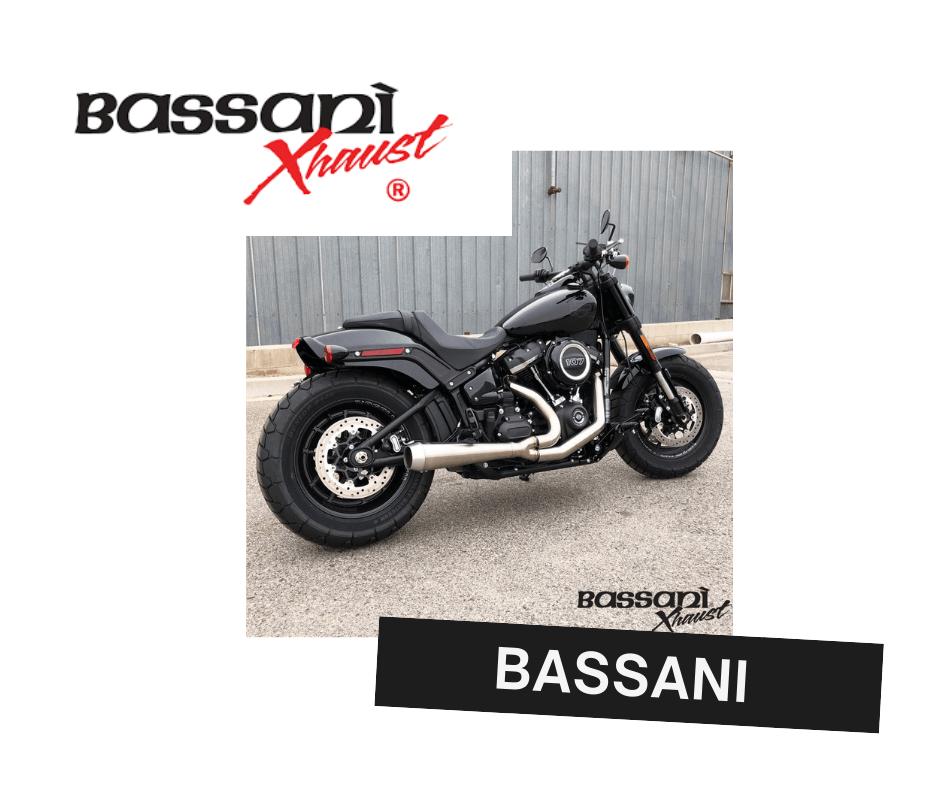 Bssani motorcycle exhausts