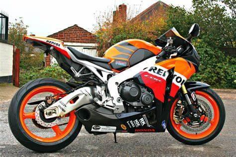 Taylormade original honda cbr1000rr superbike exhausts