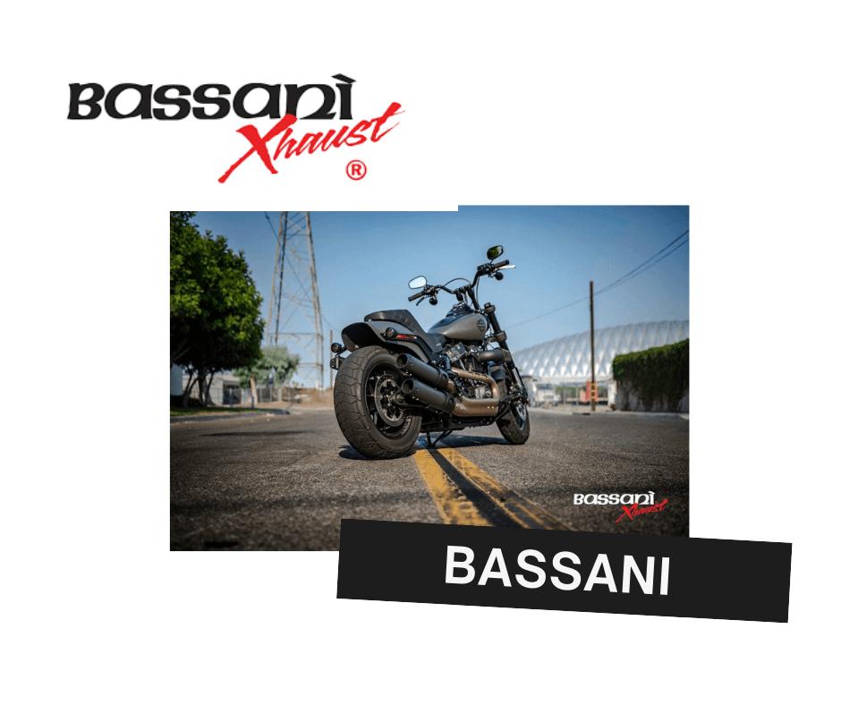 Bassani performance harley davidson exhaust