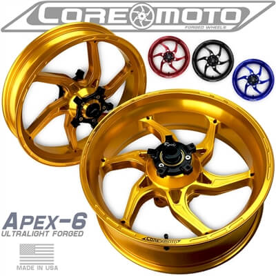 lightweight sportbike wheels