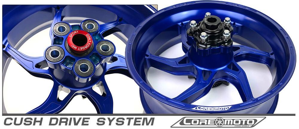 cush drive system custom wheels