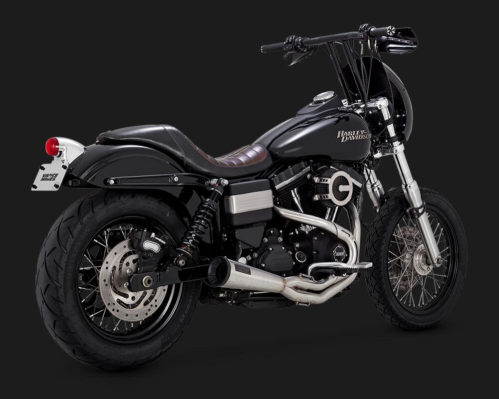 Vance and hines 2-1 custom motorcycle exhaust