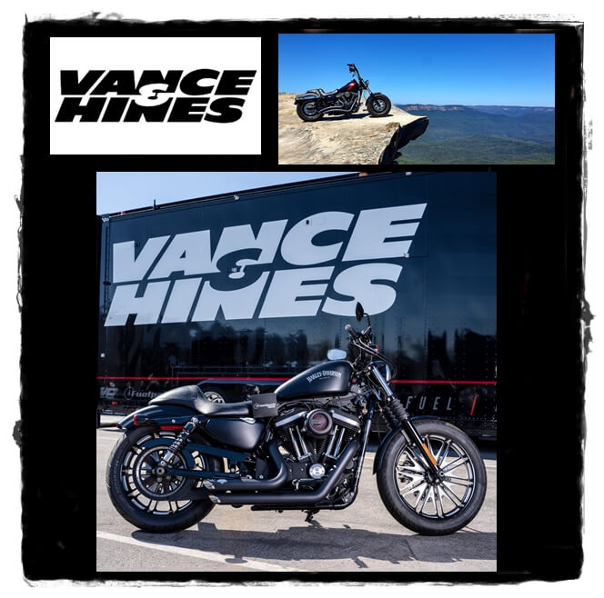 Vance and Hines exhausts motorcycles
