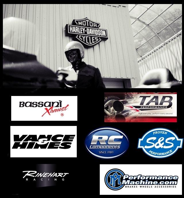 Harley Davidson / v twin aftermarket exhausts