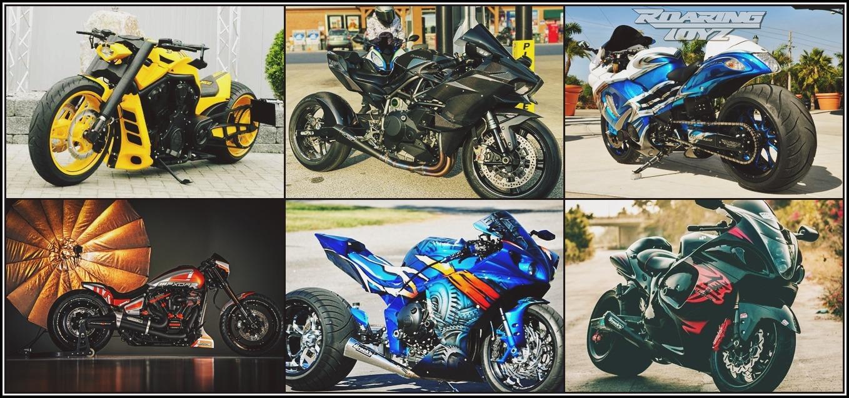 custom motorcycles banner image