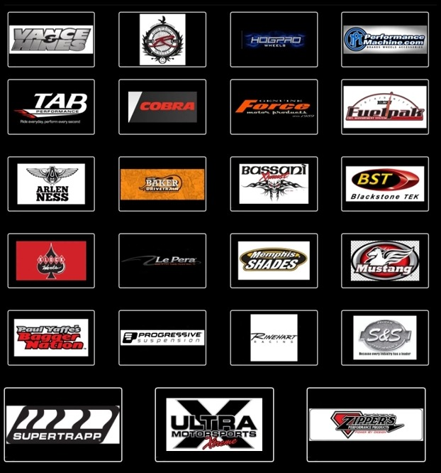 V Twin and harley davidson performance parts brands