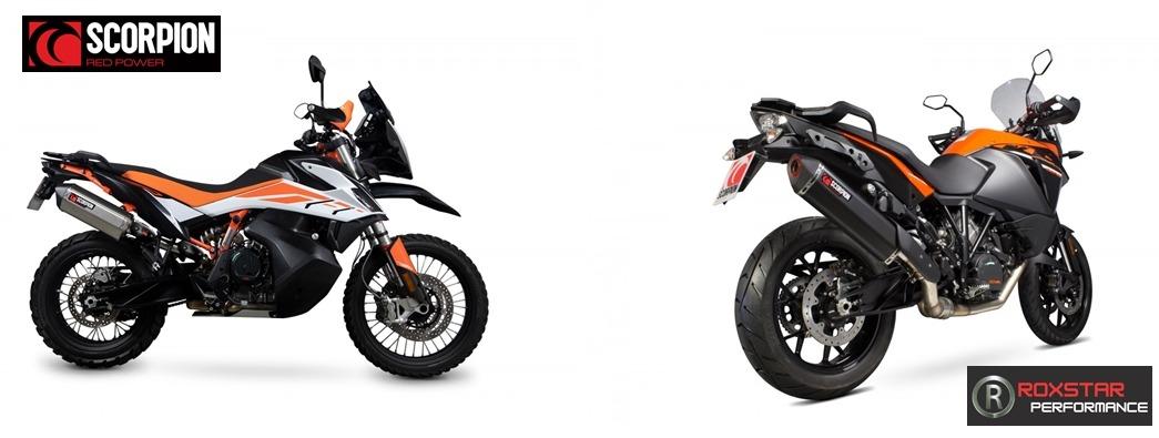 scorpion adventure motorcycle exhausts ktm