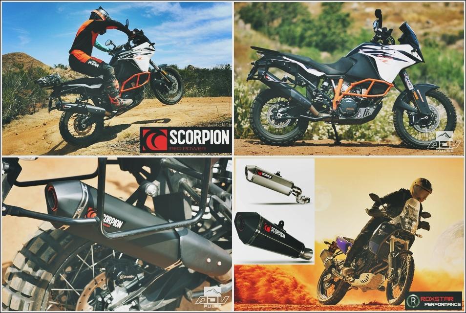 scorpion motorcycle exhausts